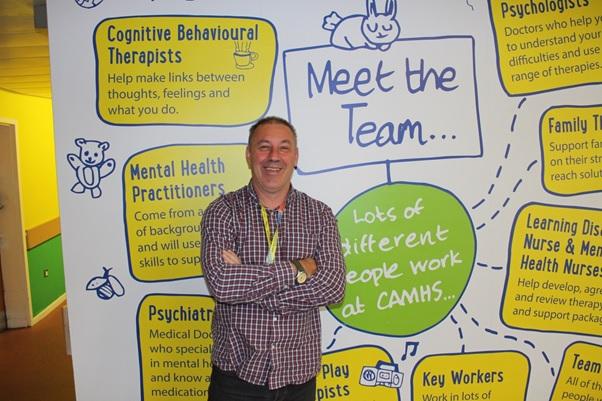 Carl Dutton, Mental Health Practitioner at Alder Hey